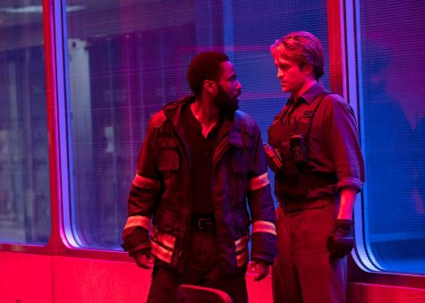 John David Washington and Robert Pattinson face the end of the world in TENET.