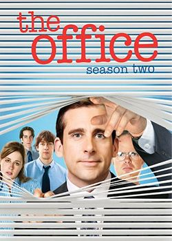 The Office Season 2 cover.