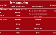 October Pop Culture Grid