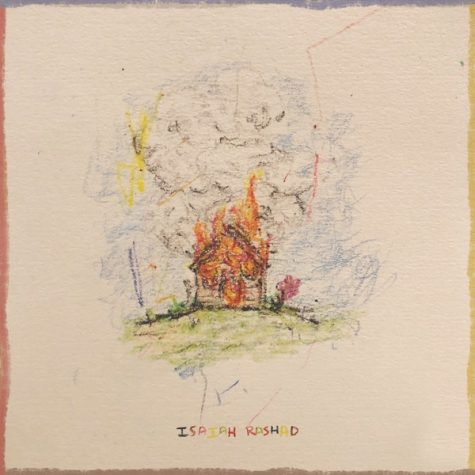 Album cover for Isaiah Rashads new album, The House is Burning