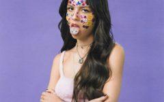 Album cover for Sour, Olivia Rodrigos first studio album.